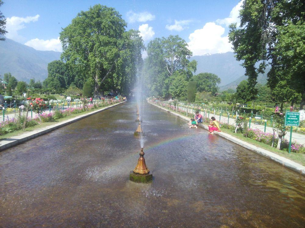 Shalimar Bagh, Srinagar, Kashmir, India