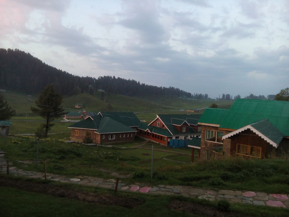 Nedou's Hotel, Gulmarg, Kashmir, India