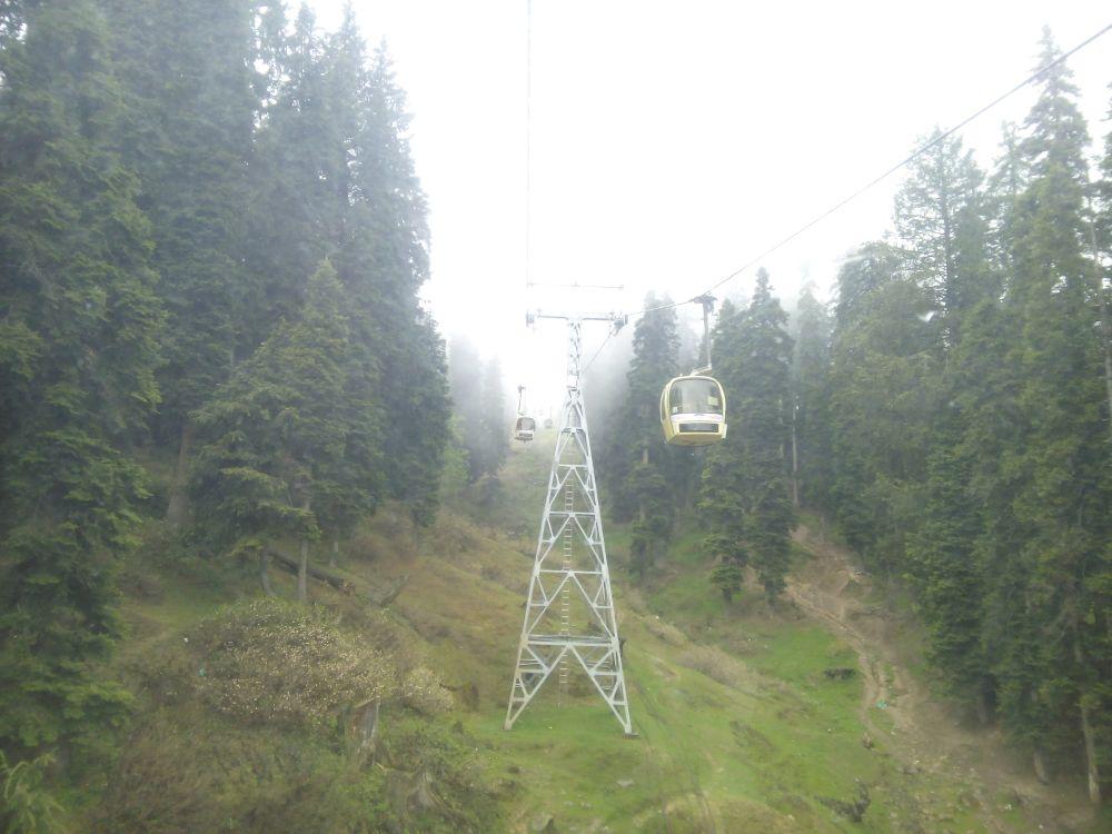 Gondola Ride, Gulmarg, Kashmir, India