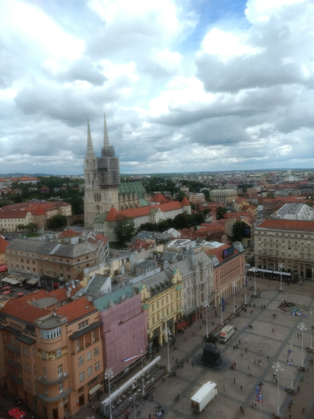 View from Zagreb 360°, Croatia