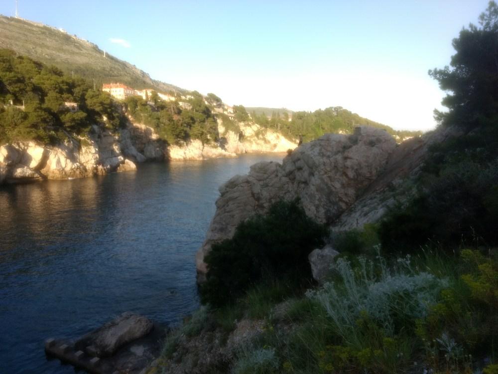The Adriatic Sea, Dubrovnik, Croatia