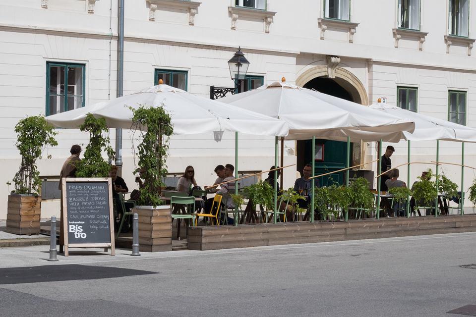 rokenships Bistro cafe, Zagreb, Croatia
