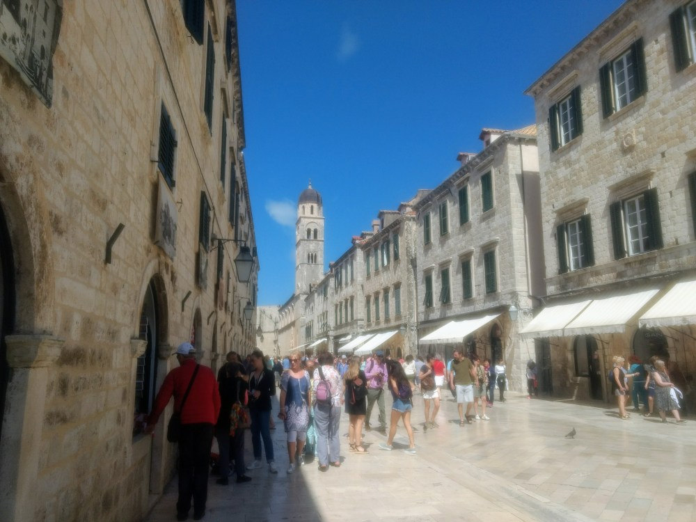 The Main Street Stradun, Old Town, Dubrovnik, Croatia