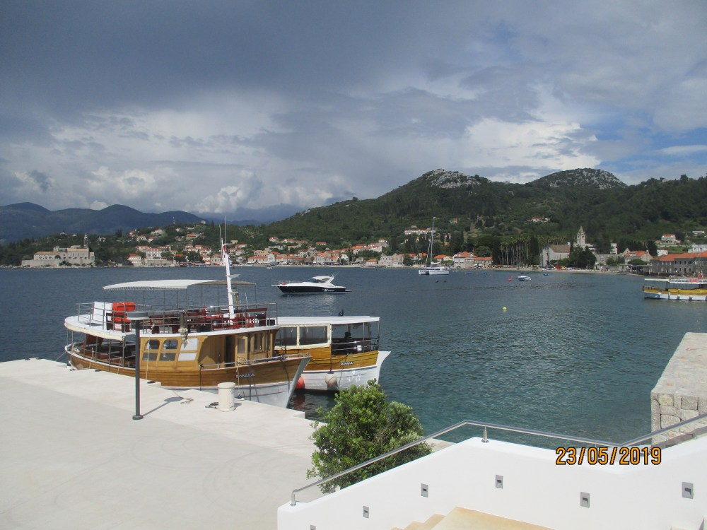 Lopud Island in Elaphiti Islands, Dubrovnik, Croatia