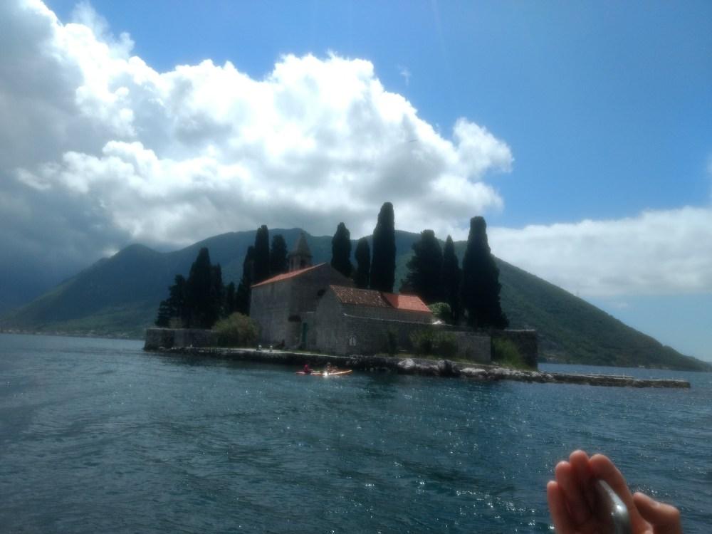 Island of St. George, Bay of Kotor, Montenegro, Europe