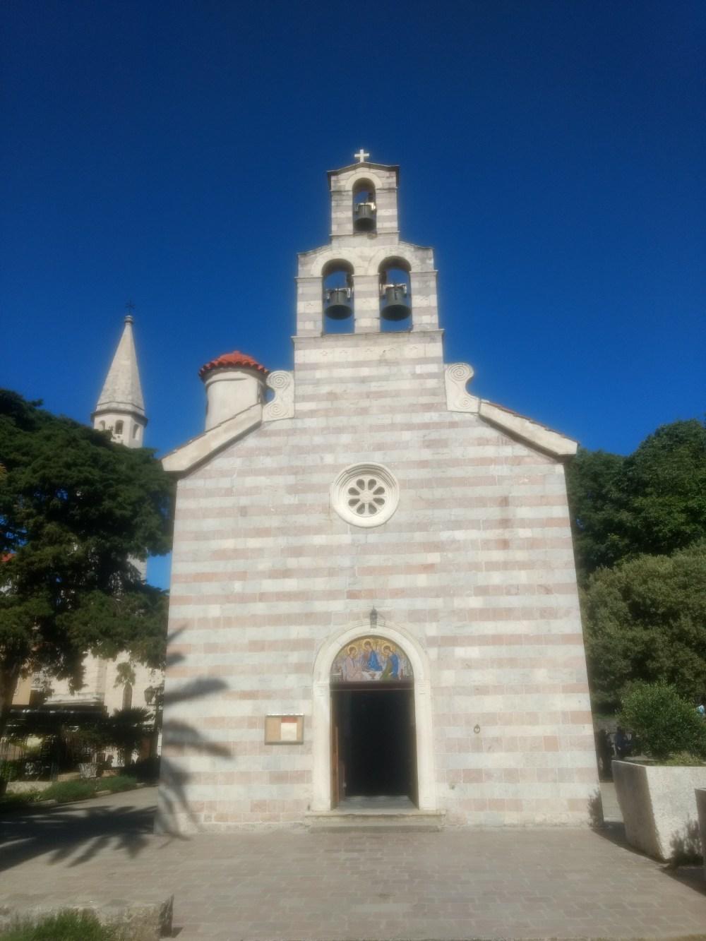 Church of the Holy Trinity, Old Town, Budva, Montenegro