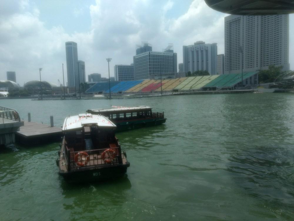 Singapore River, Marina Bay Sands, Singapore