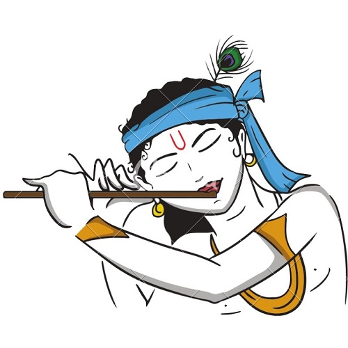 The Young Krishna painting