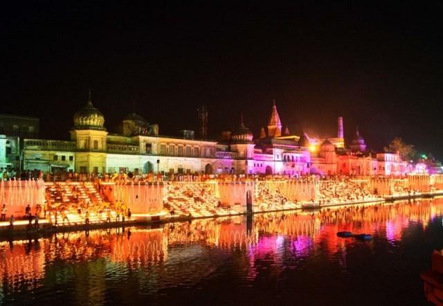 Ram Ki Paidi complex, Ayodhya, India