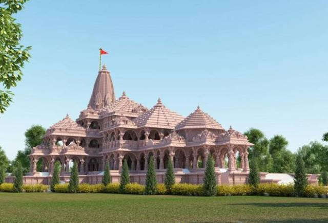 Proposed Ram Temple, Ayodhya, India