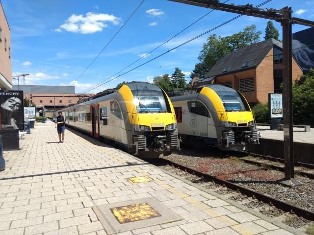 Louvain-la-Neuve Station, Belgium