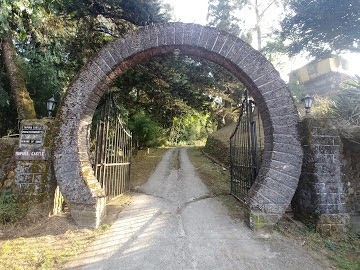 <br><br><br>The horse-shoe shaped gate, a symbol of good-luck