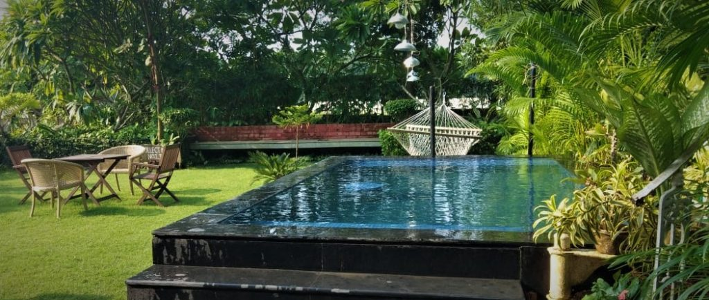 Furnished Bungalow in Raichak with Pool