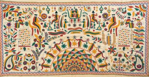 kantha- stitch