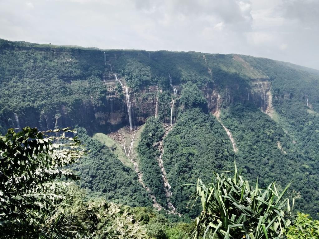 Seven Sisters Falls,Cherrapunjee