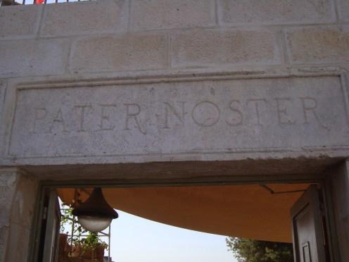 Mt of Olives-Pater Noster-43
