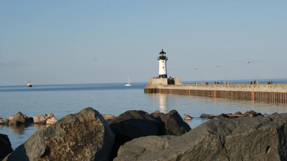 USA Bucket List for families featured by top US family travel blog, Travel With a Plan: Canal Park Duluth MN
