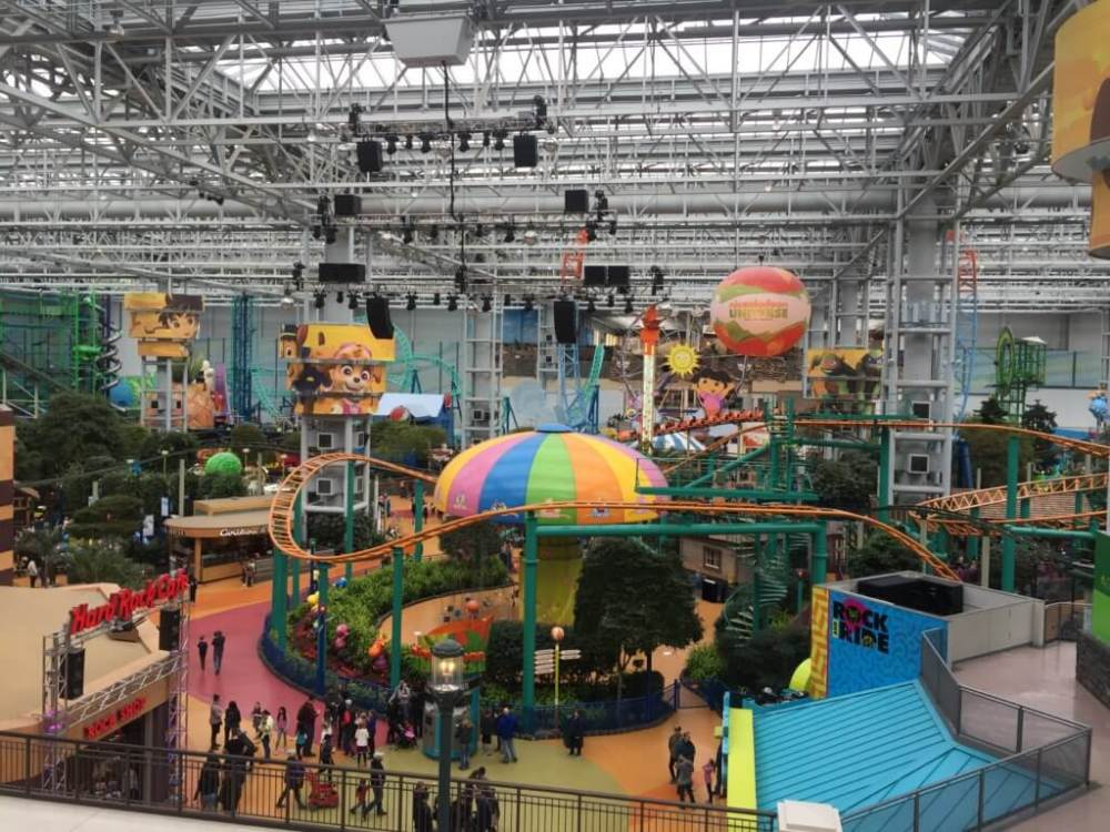 Ariel of Nickelodeon Universe | Nickelodeon Universe Theme Park: Everything You Need to Know by popular family travel blog, Travel with a Plan: image of Nickelodeon Universe theme park.