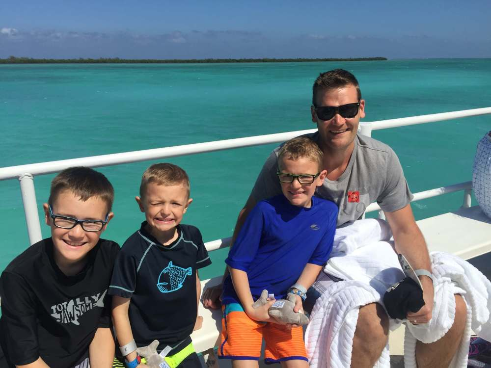 18 Top Secret Disney Fantasy Tips and Tactics  featured by top US family travel blog, Travel with a Plan: image of Grand Cayman port adventure on Disney Cruise