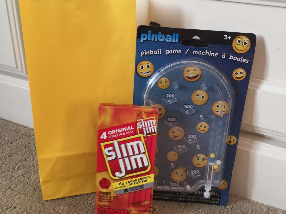 Road Trip activities featured by top US family travel blog, Travel with a Plan: Pinball road trip activity bag