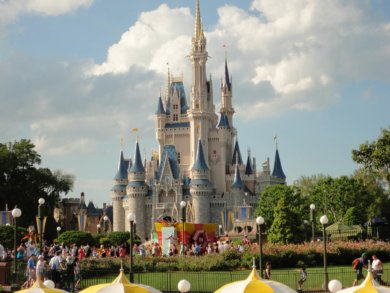 Cinderella's castle, Disney World