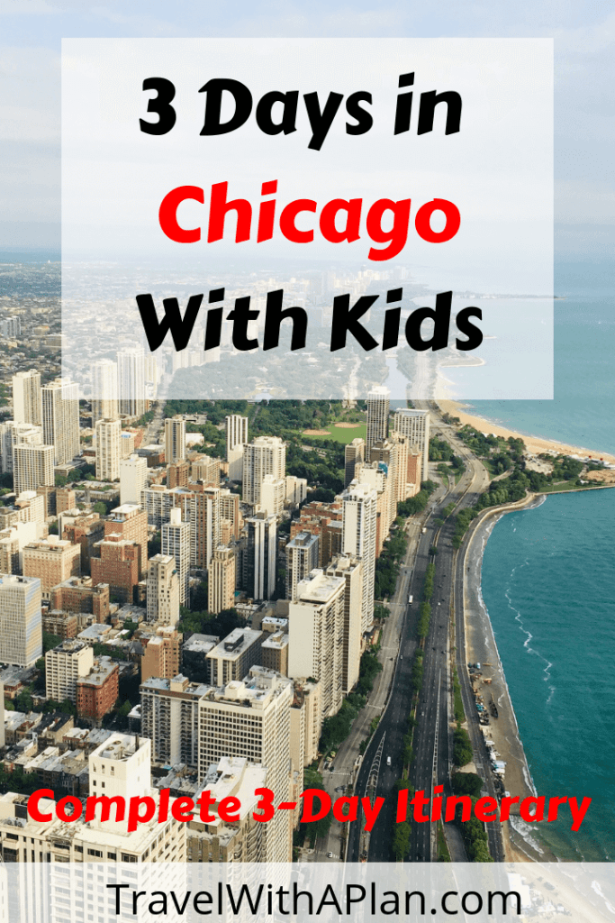 Top U.S. family travel blog Travel With A Plan uncovers exactly what to do during 3 days in Chicago!  This perfect Chicago 3 day itinerary includes all of Chicago's most popular sights and attractions! #Chicago3dayitinerary #3daychicagoitinerary #chicagoin3days #3daysinchicago #chicagoitinerary #bestthingstodoinChicagowithkids #bestthingstodoinchicago #whattodoinchicago #thingstoseeinchicago #chicagovacationideas #chicagomustdo #chicagotravels #chicagotripideas #chicagothingstodo #chicagointhesummer #thingstodochicago