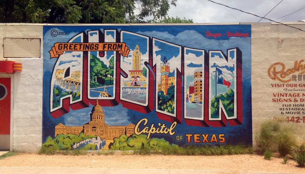 Girls weekend in AustinTop US Travel Blog highlights a girls weekend in Austin TX: murals