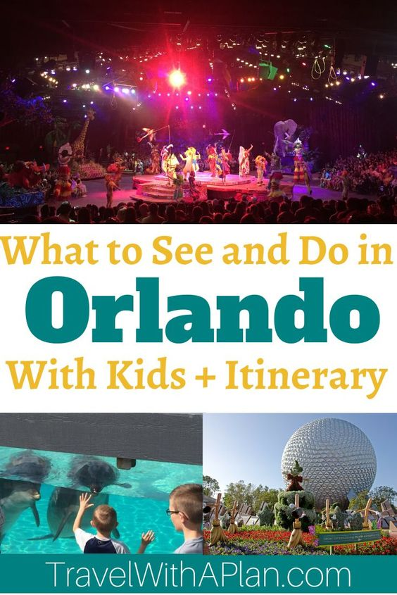Get the best Orlando itinerary from Top U.S. family travel blog Travel With A Plan! This detailed 6-day Orlando itinerary will help you plan the best family vacation to this Florida destination! #orlandoitinerary #orlandofamiliyvacationitinerary #orlandovacationitinerary #6dayDisneyitinerary #Orlandotripitinerary