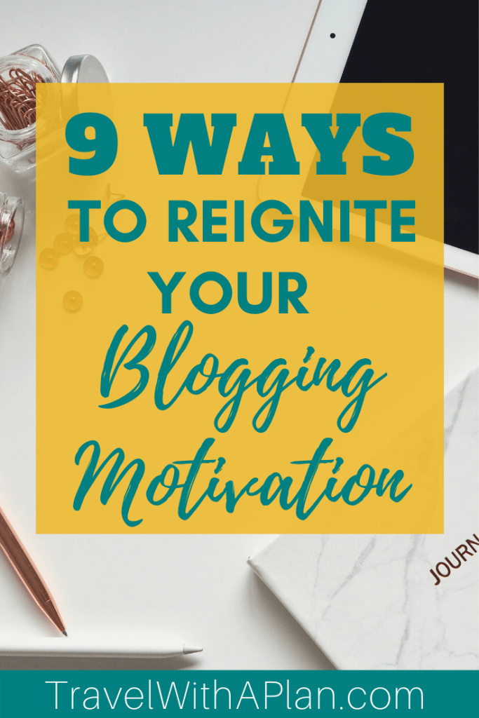 Discover 9 amazingly helpful ways to spark your creativity and increase your blogging motivation when your ideas are falling flat! Get expert quotes from other bloggers on how they stay motivated in producing killer content! #bloggingmotivation #getmotivatedtoblog #probloggingtips #howtostaymotivated