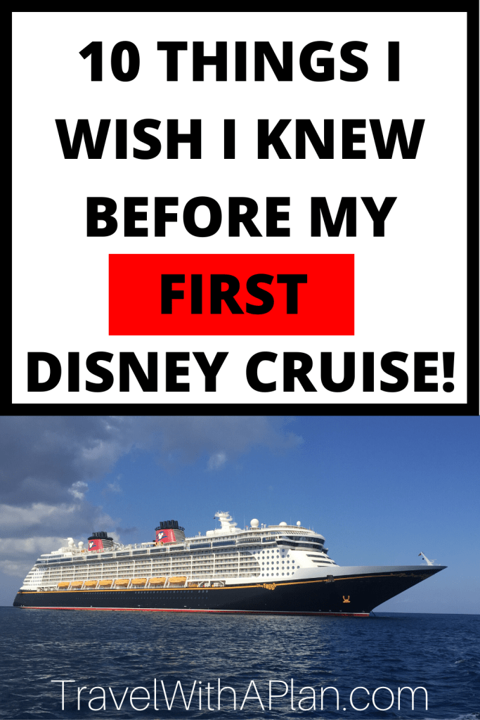 Click here to get expert Disney Cruise advice from top U.S. family travel blog, Travel With A Plan! They share what they will do the same, and do differently, upon their return Disney Cruise! Get these top Disney Cruise tips before your awesome family vacation! #DisneyCruiseadvice #DisneyCruiseLine #DisneyFantasy #DisneyDream #DisneyMagic #DisneyWonder #DisneyCruisetipsandtricks #disneycruisetipsfirsttime #DisneyCruiseneedtoknow #firsttimedisneycruisetips