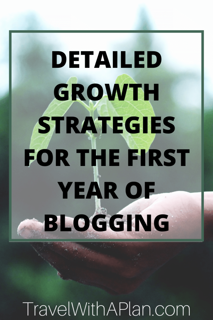 Learn the exact way to achieve success in the first year of blogging.  These growth and income strategies have been used by Top U.S. travel blog, Travel With A Plan to achieve massive success in the first year of blogging.  #mybloggingjourney #bloggingjourney #bloggingtips #firstyearofbloggingincome #firstyearofblogginggoals #blogginglessons
