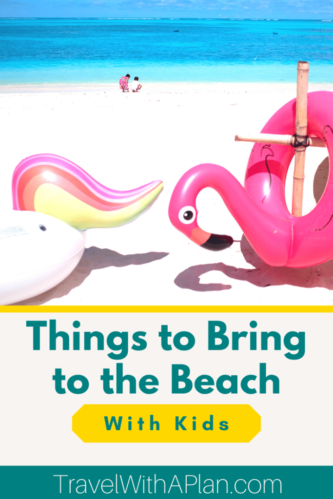 Find out exactly what you should bring to the beach with kids! Our beach packing list includes the beach essentials necessary with kids in tow! From the best snacks, to the best beach blankets and drink holders, get your beach essentials list here! #beachpackinglist #thingstobringtothebeach #beachvacations #packingessentials #familytravel #beachday