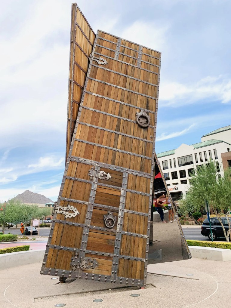 Public Art Walking Tour:  Best things to do in Old Town Scottsdale from Top U.S. travel blog, Travel With A Plan #scottsdale #arizona #oldtown