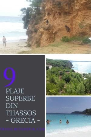 9 plaje din Thassos pe care nu o sa vrei sa le ratezi