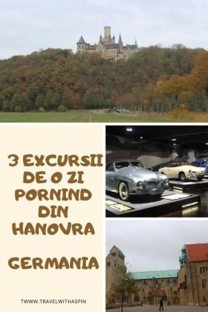 3 excursii de o zi din Hanovra Germania