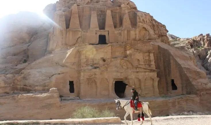 Orașul săpat în stâncă, Petra, Iordania