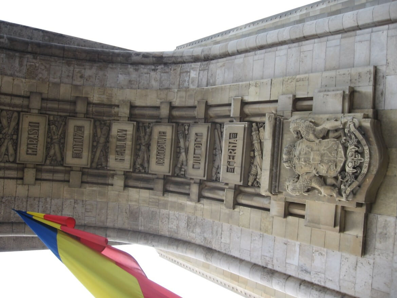 Arch of Triumph in Bucharest