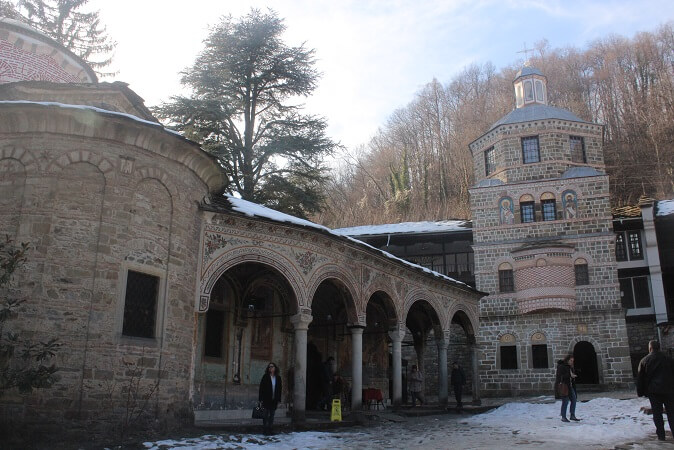 manastirea Troyan arhitectura