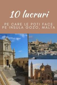 10 obiective de vizitat pe Insula Gozo, Malta