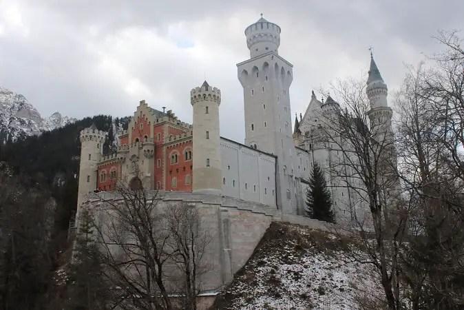 Neuschwanstein Castele Bavaria München Germany