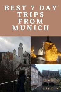 Best 7 day trips from Munich Bavaria