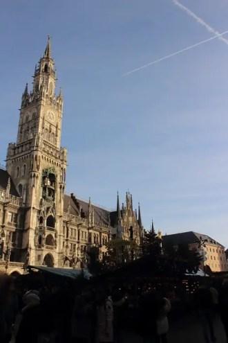 Marienplatz in München Germania