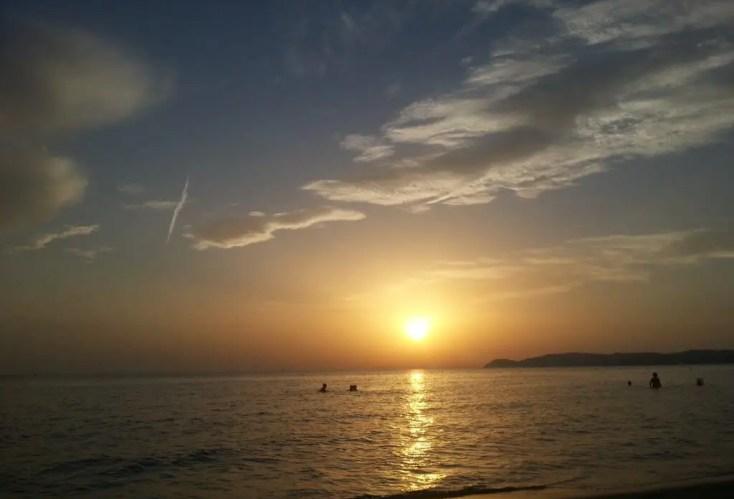 Sunset in Potos