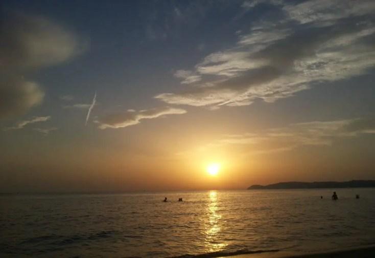 Apus in Potos, Plaje din Thassos