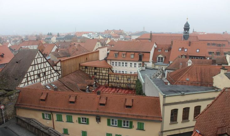 View of Bamberg from the New Residence