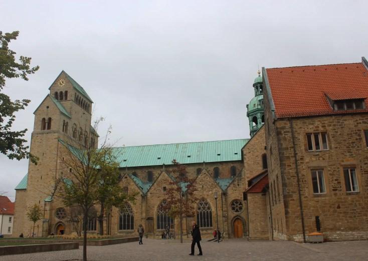 Marien Dom in Hildesheim, Germany, Hanovra