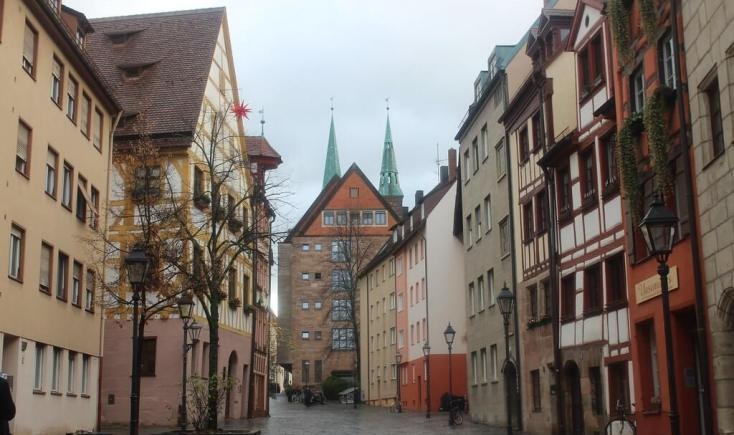 View of Weissbergergasse, Germany