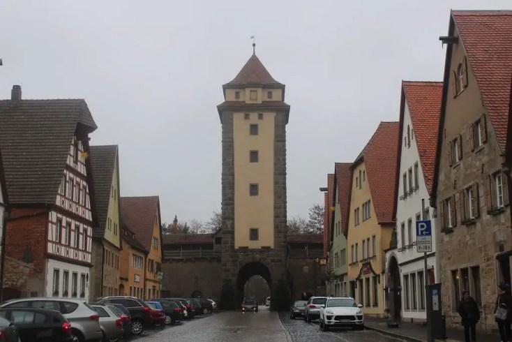 Rothenburgob der Tauber day trip from Munich