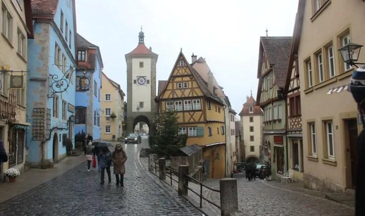 The Plonlein in Rothenburg ob der Tauber