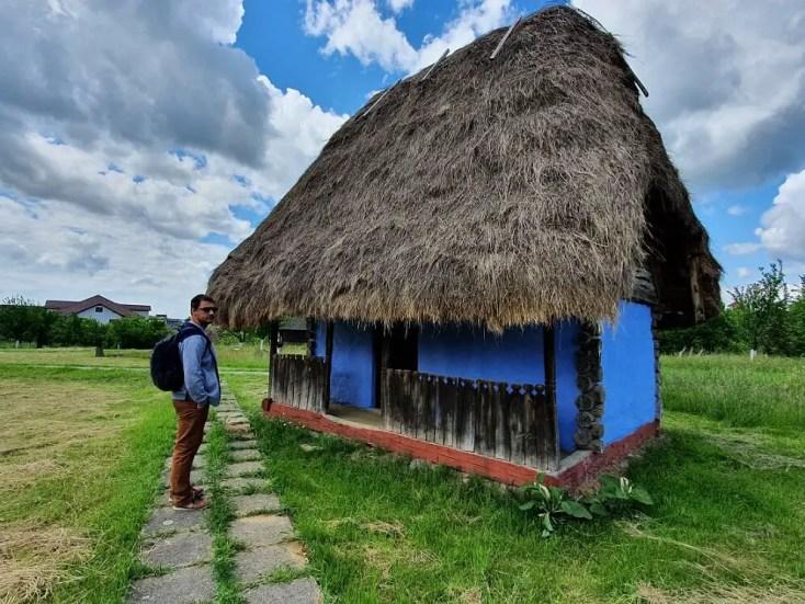The village museum in Negresti Oas, Romania